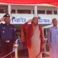 মতলব উত্তরে শিক্ষামন্ত্রী ডা. দিপু মনি এমপি।